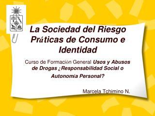 La Sociedad del Riesgo Pr ticas de Consumo e Identidad