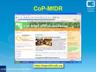 CoP-MfDR
