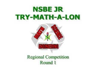 NSBE JR TRY-MATH-A-LON