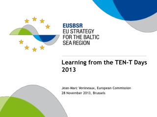 Learning from the TEN-T Days 2013