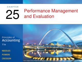 Performance Management and Evaluation
