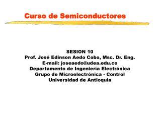 Curso de Semiconductores