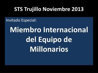 STS Trujillo Noviembre 2013