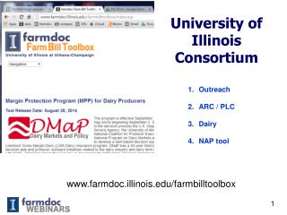 University of  Illinois Consortium
