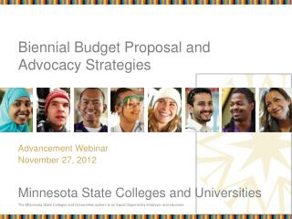 Biennial Budget Proposal and Advocacy Strategies