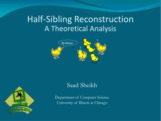 Half-Sibling Reconstruction A Theoretical Analysis