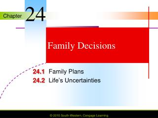 Family Decisions