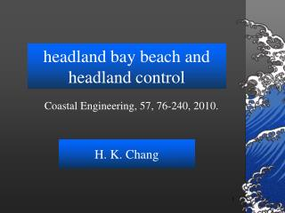 headland bay beach and headland control