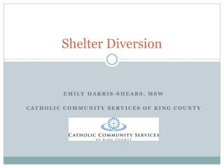 Shelter Diversion
