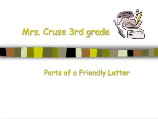 Mrs. Cruse 3rd grade