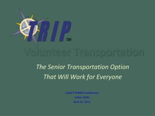 Volunteer Transportation