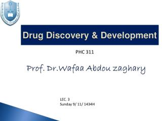 Drug Discovery & Development