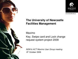 The University of Newcastle Facilities Management