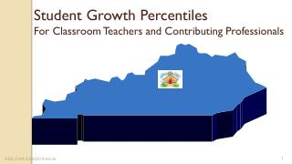 Student Growth Percentiles   For Classroom Teachers and Contributing Professionals