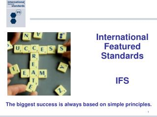 International Featured Standards IFS