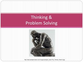 Thinking & Problem Solving