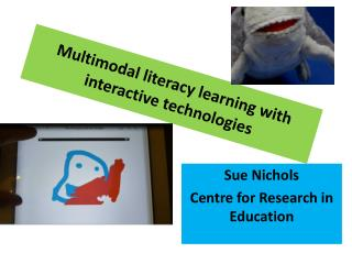 Multimodal literacy learning with interactive  technologies
