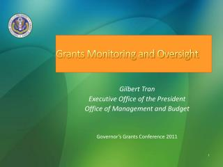 Grants Monitoring and Oversight
