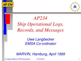 AP234  Ship Operational Logs,  Records, and Messages
