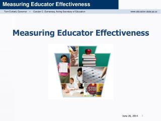 Measuring Educator Effectiveness