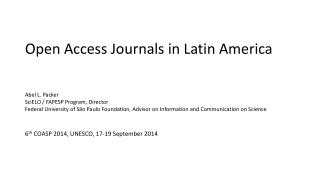 Open Access Journals in Latin America