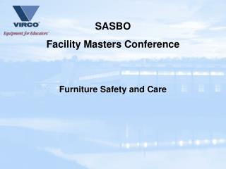 Furniture Safety and Care