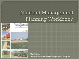 Nutrient Management Planning Workbook