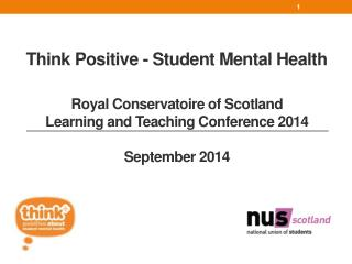 Think Positive - Student Mental Health