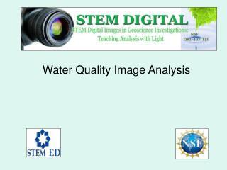Water Quality Image Analysis
