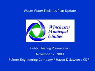 Waste Water Facilities Plan Update