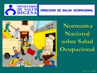 Normativa Nacional sobre Salud Ocupacional