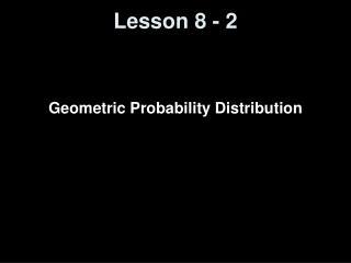 Lesson 8 - 2