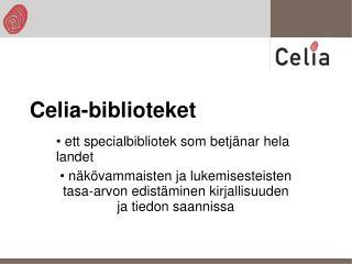 Celia-biblioteket