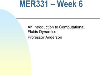 MER331 – Week 6