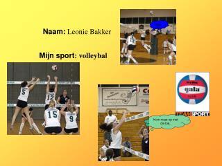 Naam: Leonie Bakker