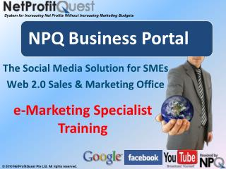 The Social Media Solution for SMEs Web 2.0 Sales & Marketing Office