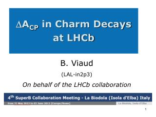 A CP  in Charm Decays at LHCb