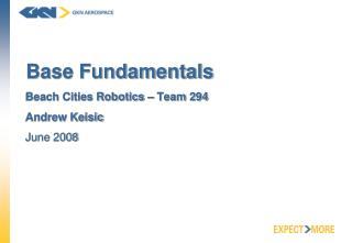 Base Fundamentals