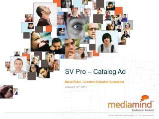 SV Pro – Catalog Ad