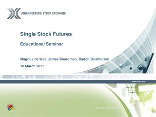 Single Stock Futures Educational Seminar