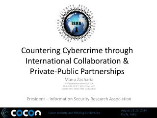 Countering Cybercrime through International Collaboration  &  Private-Public Partnerships