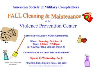 at the  Violence Prevention Center