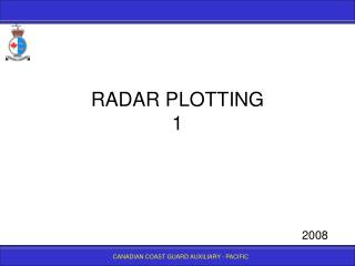 RADAR PLOTTING 1