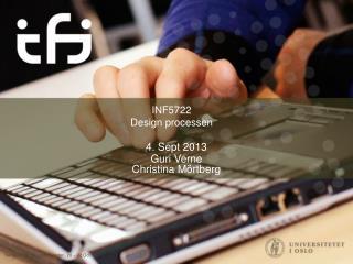 INF5722 Design processen