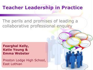 Teacher Leadership in Practice