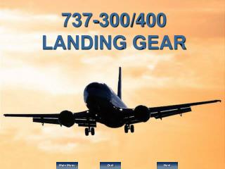 737-300/400 LANDING GEAR