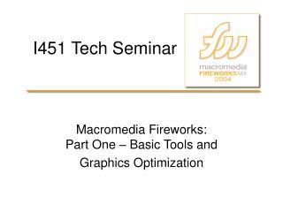 I451 Tech Seminar