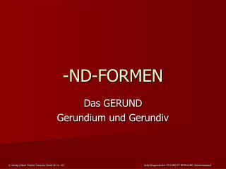 -ND-FORMEN