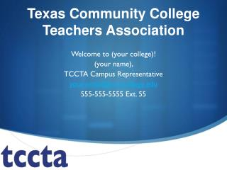 Texas Community College Teachers Association