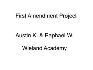 First Amendment Project